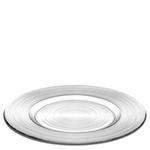 Dekketallerken glass 30cm