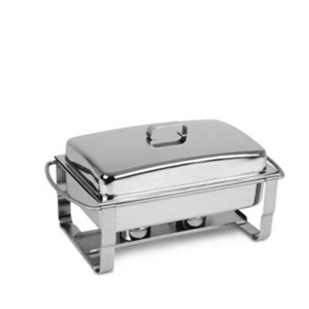 Vannbad/Chafing dish inkl. 2 stk brennpasta 1 / 1