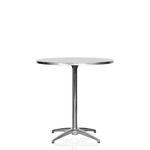 Cafébord, stål 4pers. D:76cm H:73cm