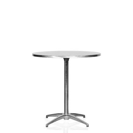 Cafébord, stål 2-4 pers. D:76cm H:73cm 1 / 1