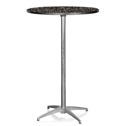 Cocktailbord, laminat 4 pers. D:76cm H:110cm 1 / 4