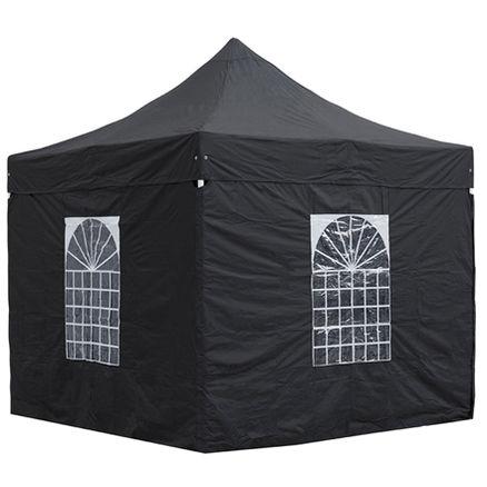 Quick-Up telt sort 3x3m 8-10 pers 1 / 2